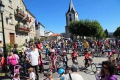 As bicicletas fanse donas de Trives