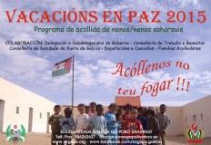 Vacacións en Paz 2015 para nenos saharauis