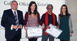 O finalista de Allariz, premiado na Gala de Xoiaría-San Eloi