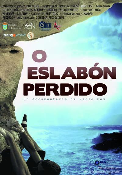 """Cartaz do filme """"O eslabón perdido"""" de Pablo Ces./ Foto: cedida polo autor."""