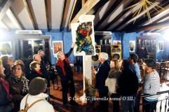 Exposición de pintura de Jaigarr na Adega D'Berna