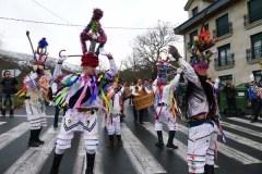 O engado das mascaradas envolve Vilariño de Conso