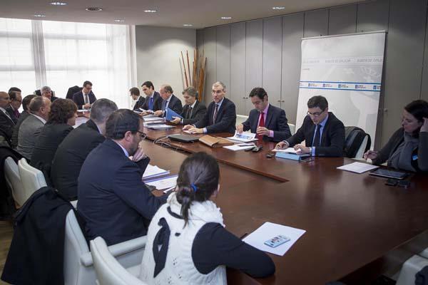 Reunión do conselleiro de Economía cos clústers galegos.