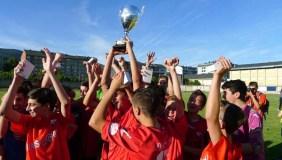 Os cadetes do C.D. Barco, campións da Copa Deputación