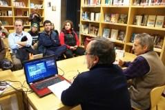 """Xavier López presenta """"Amigo Miedo"""" na Biblioteca de Verín"""