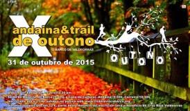 X Andaina & Trail de Outono, o 31 de outubro no Barco