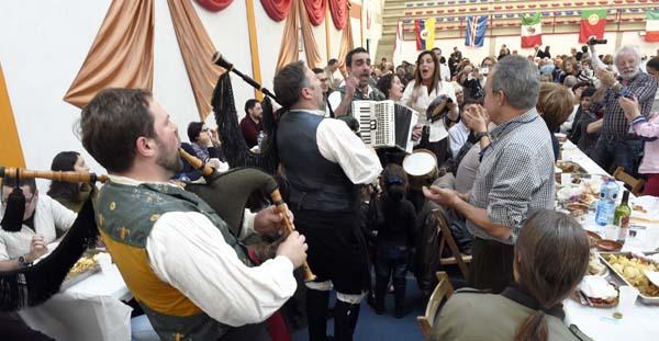 Os Bertolini participarán nos cantos de taberna. /Foto: Carlos G. Hervella.