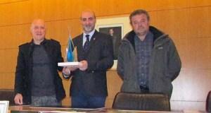 Xosé Benito Reza, premio Ouro Azul 2016