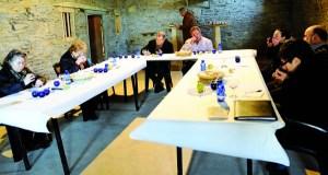 Unha cata enceta os actos da XVI Mostra do aceite de Quiroga