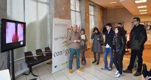 Alumnos do IES Carlos Oroza de Pontevedra, na D.O. Monterrei