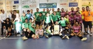 A final da Copa Deputación enche o polideportivo de Manzaneda