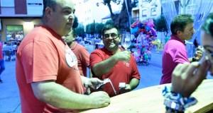 Entre premios e brindes no broche da XIX Feira do Viño de Valdeorras