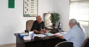 Reunión dos presidentes da DO Valdeorras e da Asociación de Sumilleres Gallaecia