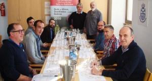 Cata de calificación dos viños de branco lexítimo, en Paderne