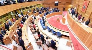 Comeza a X Lexislatura do Parlamento galego co ourensán Miguel Santalices como presidente