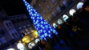 Ourense daralle a benvida ao Nadal cunha gran festa