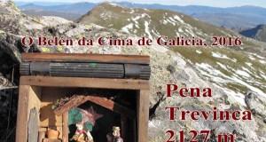 O Club O Trisquel de Trevinca colocará neste Nadal o belén na cima de Galicia