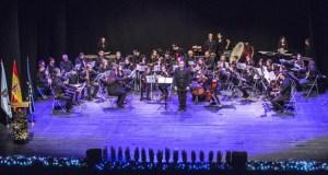 A Banda de Música do Barco pon son ao Día da Constitución en Ourense