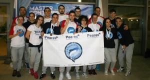 Sexto posto para o equipo feminino do CN Escualos no galego máster de natación