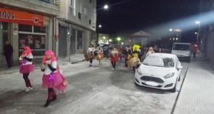 Os Labregos celebran o Xoves de Compadres cunha ronda do folión por Trives