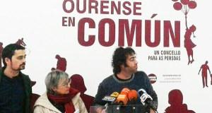 """Davide Rodríguez (En Marea): """"Hai un abandono total de Ourense"""""""