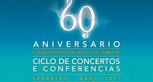 """Vento madeira e piano xuntaranse no concerto """"Aureum Ensemble"""" do 60 aniversario do Conservatorio de Ourense"""