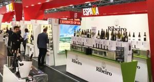 Túnel con 35 viños do Ribeiro, en Prowein
