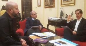A CHMS e o Concello de Ourense traballarán na mellora das canles dos ríos da cidade