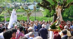 Encontro da Virxe co Resucitado, no Domingo de Pascua no Barco