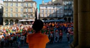 """O Correlingua anima aos escolares ourensáns a usar o galego """"sen cancelas"""""""