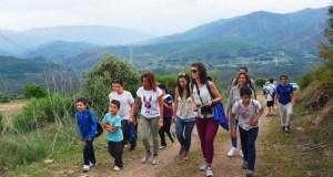 Visita á Serra da Lastra polo Día Europeo dos Parques Naturais