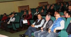 Os viticultures de Valdeorras afectados pola xeada, asisten a unha charla sobre como recuperar as cepas