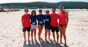 Os deportistas do Salvour, entre os mellores da liga galega de salvamento e socorrismo