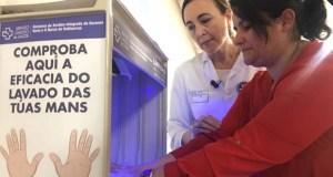 A hixiene de mans, un xesto que evita infeccións e salva vidas