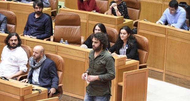 Davide Rodríguez (En Marea) pide no Parlamento galego axudas directas polos danos das xeadas