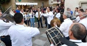 A banda de música Fonte Grande pon o broche á Feira de 1812