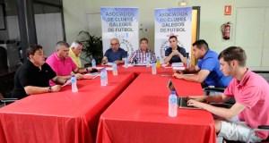 A xunta directiva da Asociación de Clubes Galegos de Fútbol reúnese no Barco de Valdeorras