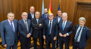 A Deputación e os empresarios galegos analizan accións de impulso na provincia