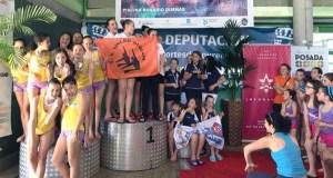 O Sincro Ourense triunfa na Copa Deputación de natación sincronizada