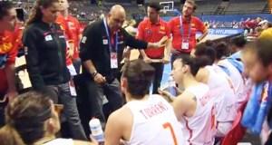 O valdeorrés Lucas Mondelo conduce á selección española ás semifinais do Eurobasket feminino