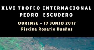 A piscina Rosario Dueñas de Ourense acolle o Trofeo Pedro Escudero este sábado