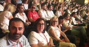 A representación ourensá no 39 Congreso Federal do PSOE
