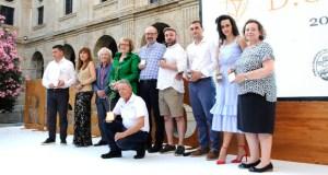 Ramón do  Casar treixadura, Pazo Tizón e Elisa Collarte, mellores viños na cata oficial do Ribeiro