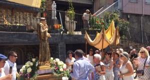 Procesión de San Antón en Sobradelo Vello