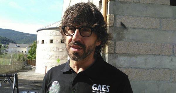 O actor Santi Millán, en Vilamartín