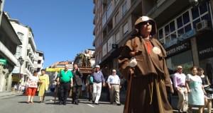 O barrio da Ponte rende homenaxe ao seu patrón o Apóstolo Santiago