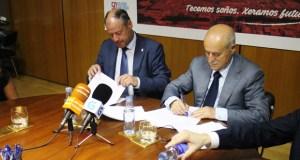 O Polígono de San Cibrao e a UVigo renovan o seu convenio marco de colaboración