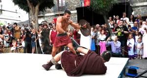 Romanos e castrexos invaden Quiroga