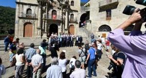 Visita institucional ao Santuario da Nosa Señora das Ermitas (O Bolo)
