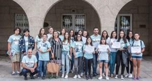 Recoñecemento aos voluntarios da Biblio-piscina de Verín